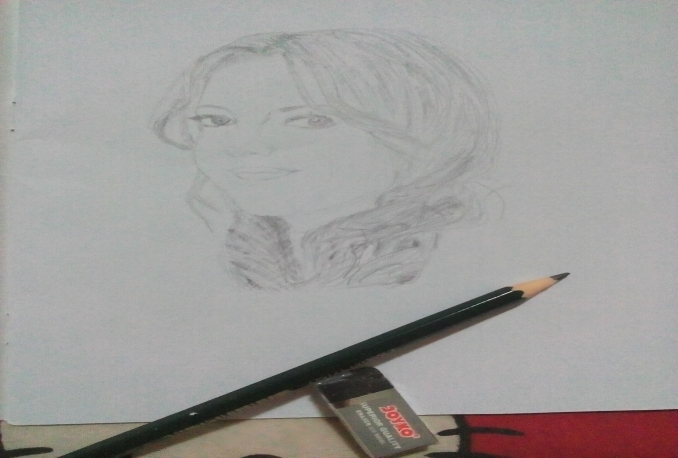 Give you a great pict from my sketch pencil