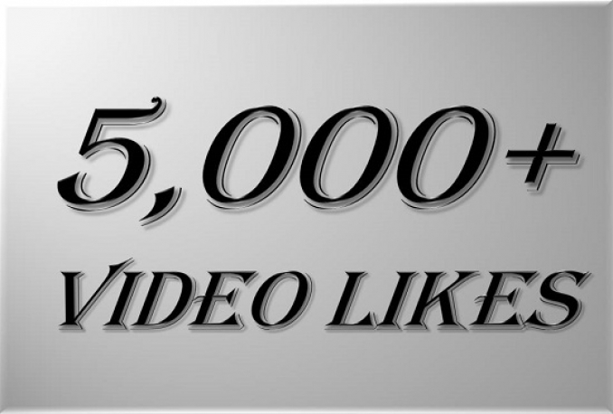 give you 5,000+ youtube video likes