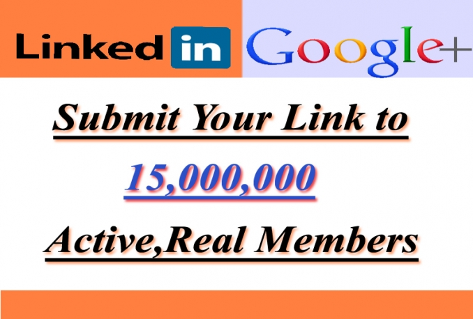 I Will Promote Anything To 15,000,000 Linkedin And Google Members