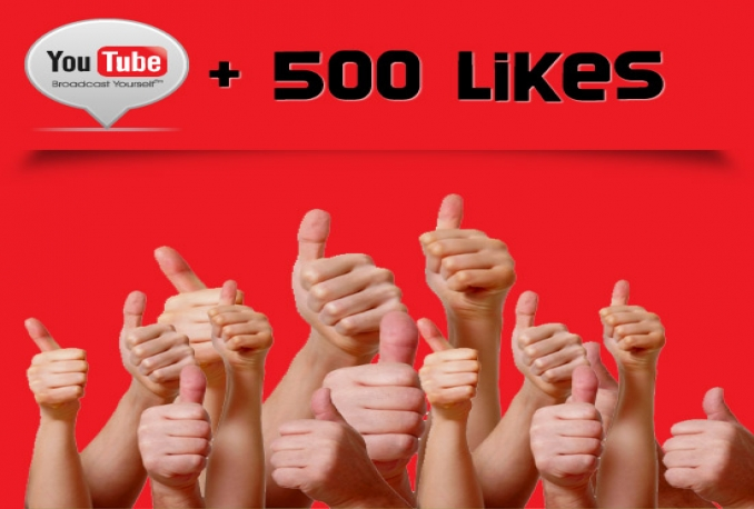 Provide 500 YouTube Likes >>start instant>>