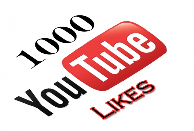 give you 1000 youtube likes