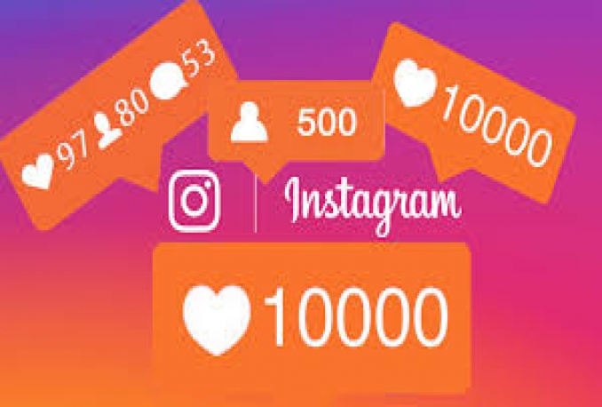 Give you 1000 non drop instagram likes