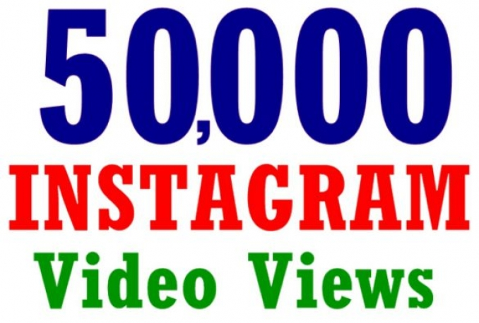 Instagram 50,000+ Instant Fast Non Drop Views