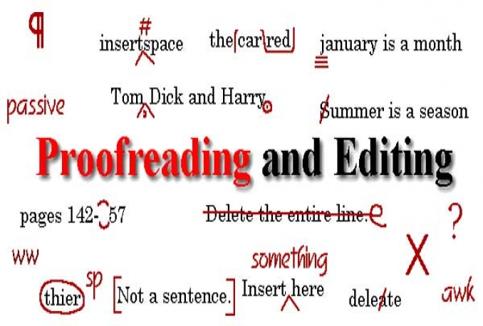 proofread and edit your 500 word document