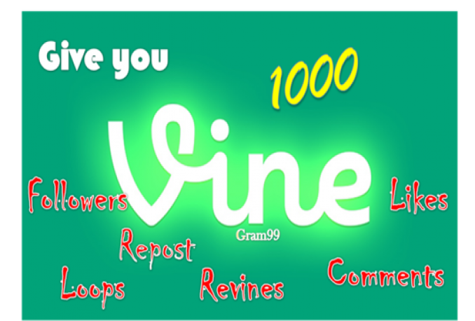 deliver1000 Vine Followers [ High quality, Instant Start ]