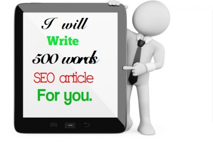 write 500 words SEO articles for you