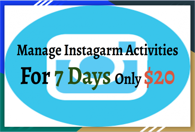 professionally do Instagram Manually Marketing must increase Target audience for 7 Days