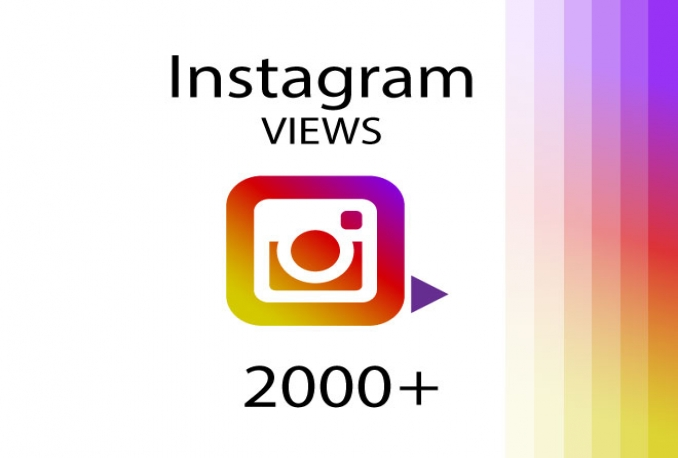 add 2000+ HQ Instagram VIEWS to your post