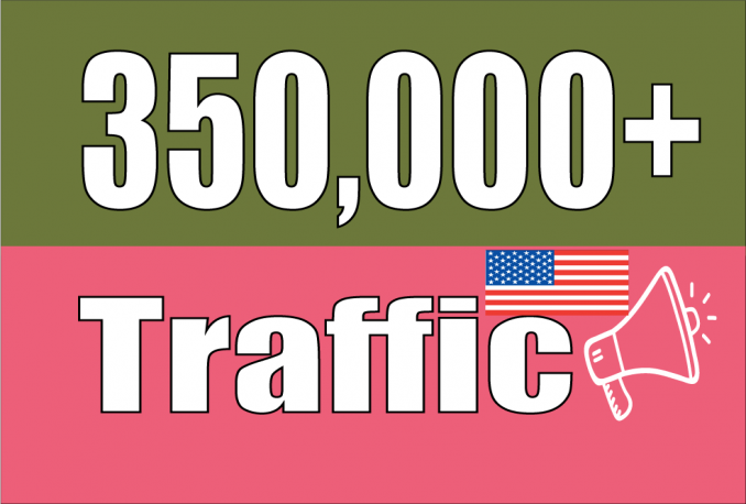 Drive 350,000 USA Website Traffics Visitors