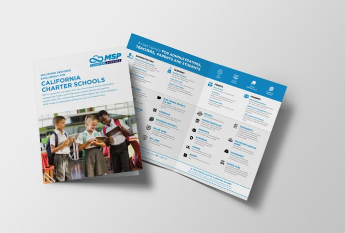 design a professional business brochure and flyer within 24 hours
