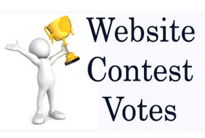 Provide you 100 best support  to you any online Website contest Vote
