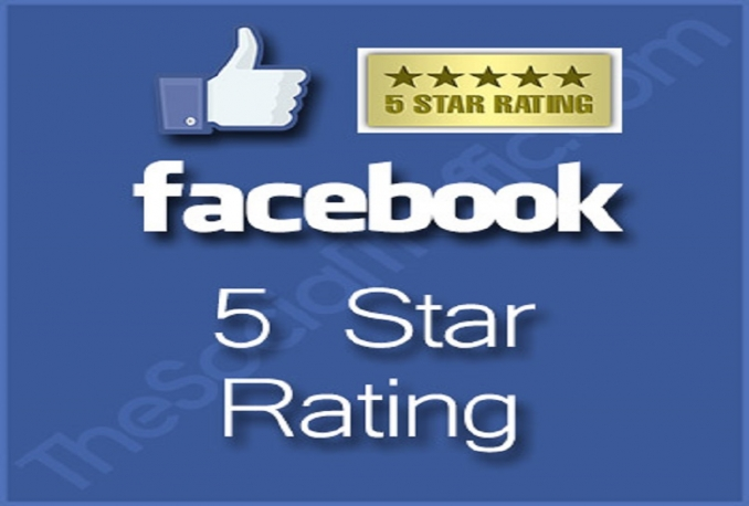 ive you 100+ USA Active 5-Star Ratings on your Fan Page