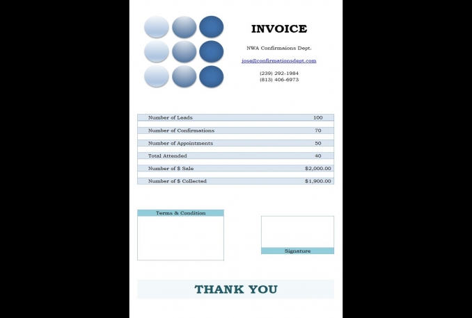 design invoice format for you in excel