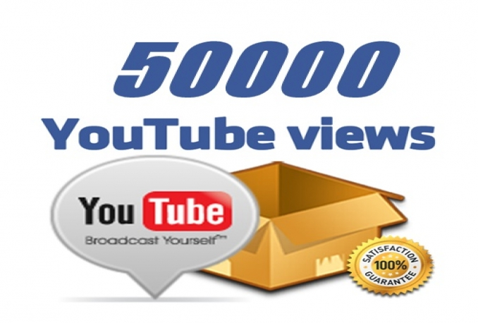 add 50,000  YouTube Safe Views