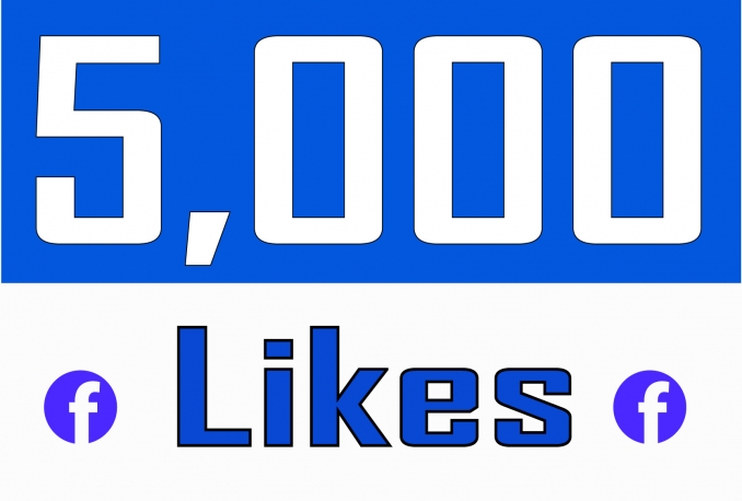 Add 5,000 NON DROP Fan Page Likes