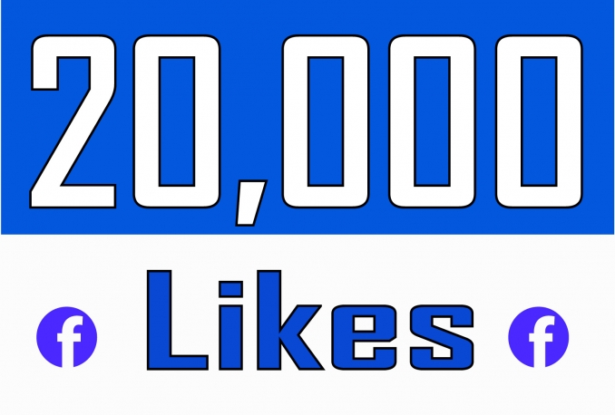 Add 20,000 Fan Page Likes within 24 hrs