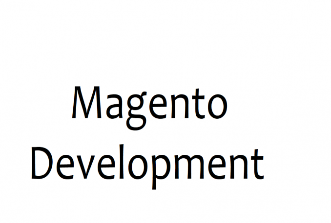 Provide Magento Development