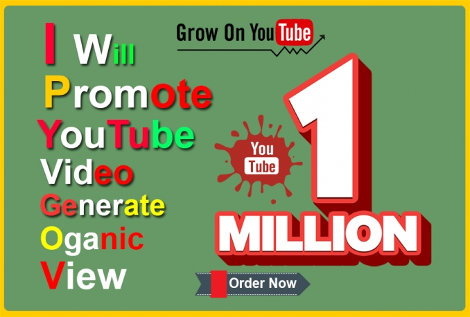 Professionally Promote Youtube Music Video Organically View