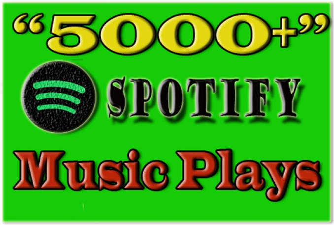 provide 5,000 Spotify plays