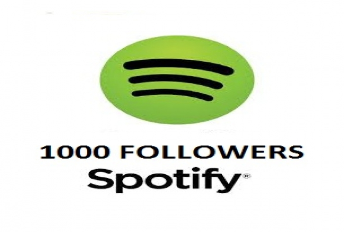1000 Spotify followers