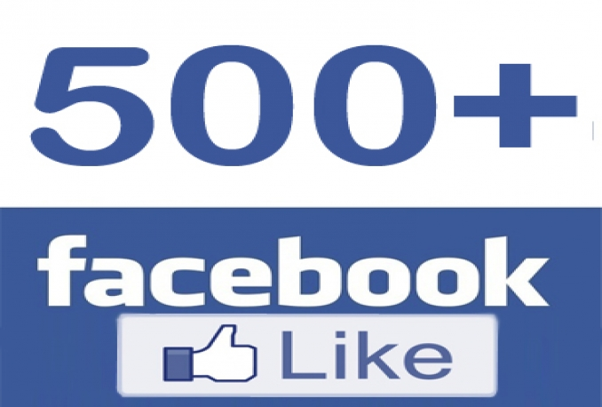give + 500 Facebook FanPage Likes