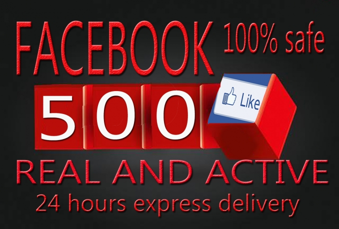 Promotion Facebook Page Like  500 Real And Active