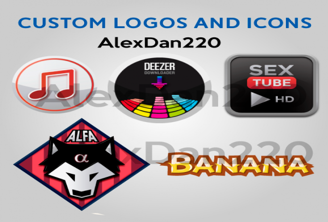create custom logos and icons for Apps