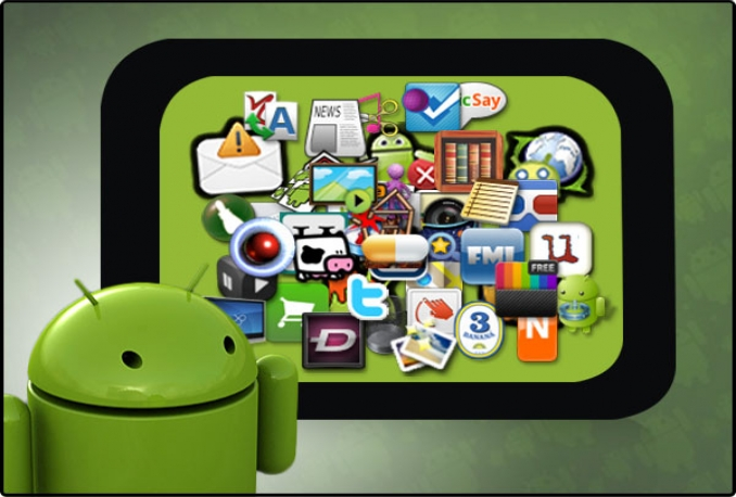 make your Website into an android app, give you the Application, a QR code and design logo
