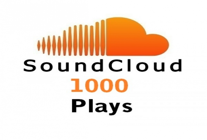 increase your Soundcloud Plays by at least 1000+