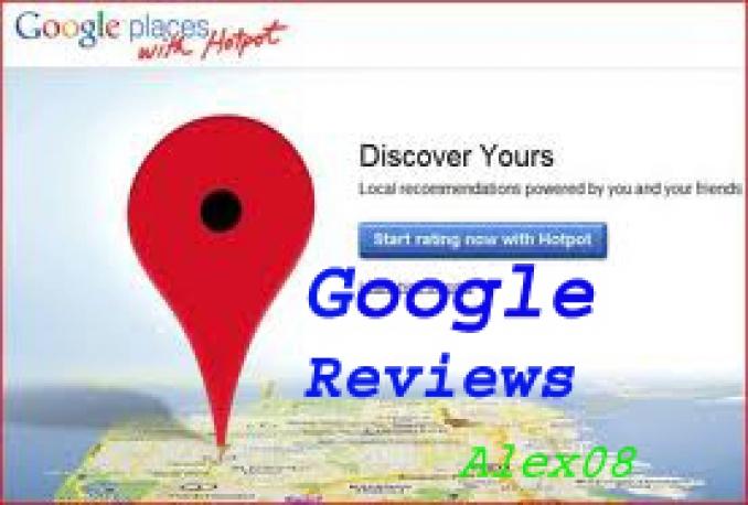 post 2 or 4 positive reviews in your google places in different days