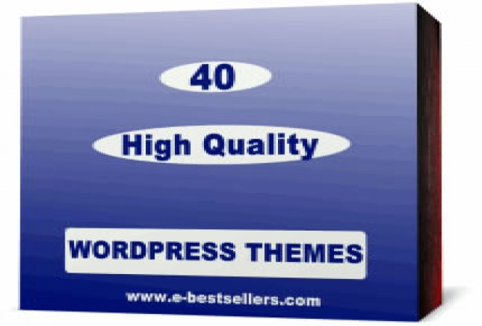 give you 40 premium wordpress themes with PLR Rights