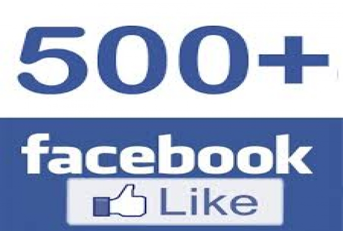 Get You Real 500+ Facebook fanpage or 2500 Photo,Post,Video Likes Or Followers,Subscribers