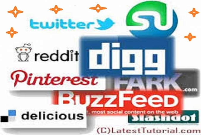 submit your site or blog MANUALLY to 15 Social Bookmarking sites PR4 to PR8