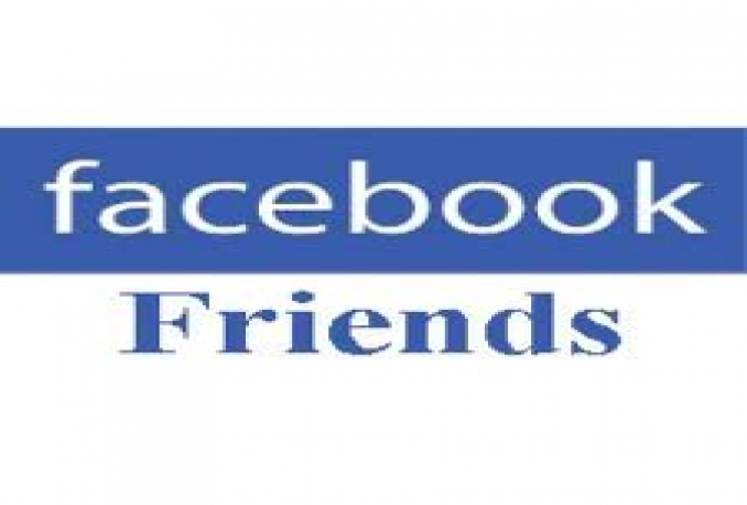 add Real 500+ Real Facebook friends for your profile