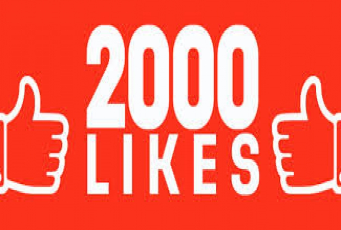 add Permanent 2000+Facebook post,comment like