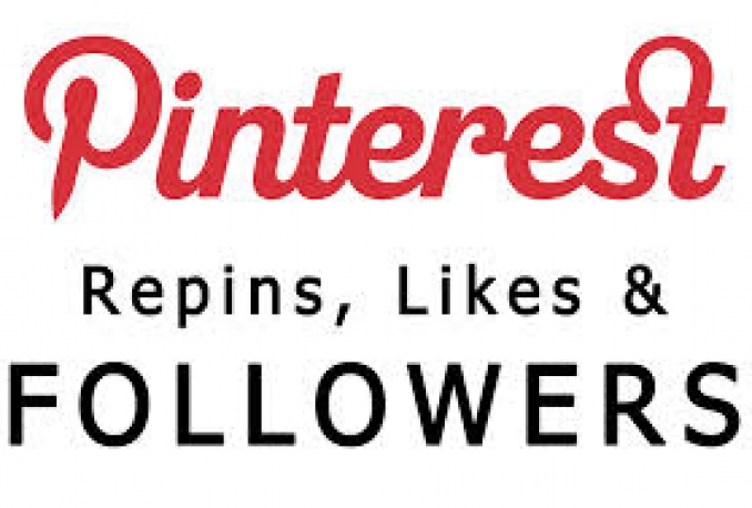 Get Instant 400 Pinterest Followers Or Likes Or Repins
