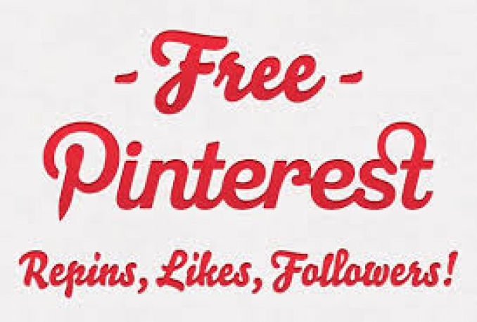 Get Instant 1600 Pinterest Followers Or Likes Or Repins