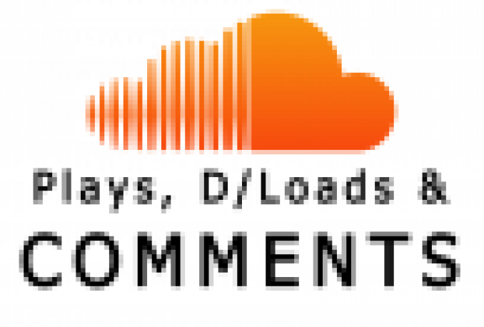 DELIVER 160,000 SOUNDCLOUD PLAYS+ 6000 DOWNLOADS+600 LIKES