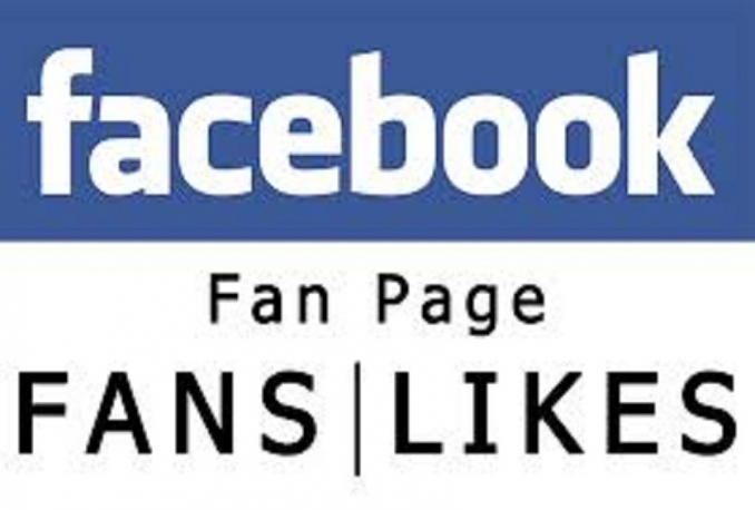add Real & active 1000+ Facebook Fan Page Likes