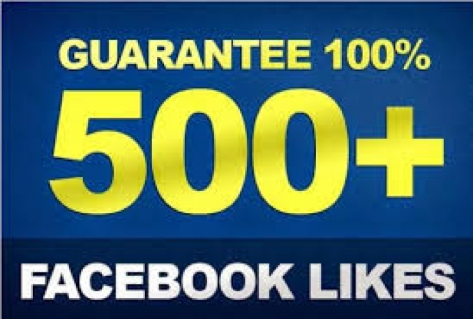 I will Gives you 100 Facebook Likes Real,& Fast Service try it now
