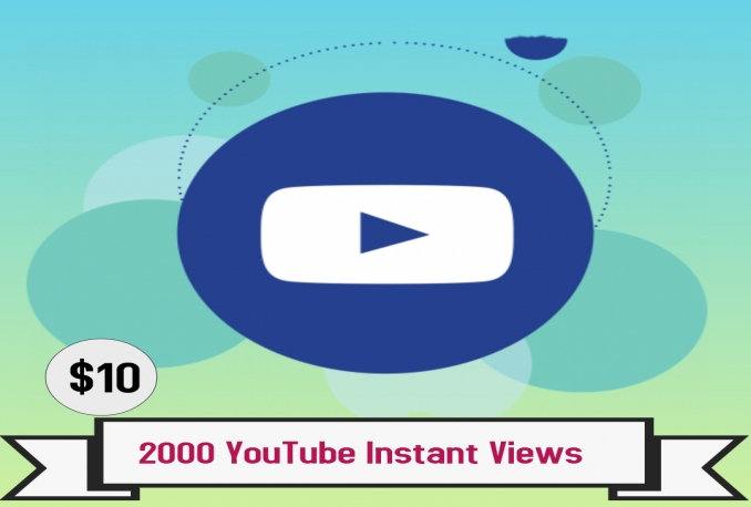 Deliver 2,000 NON DROP YouTube Views