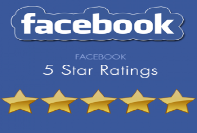 Give 500 Five star Reviews to your Facebook Fan page