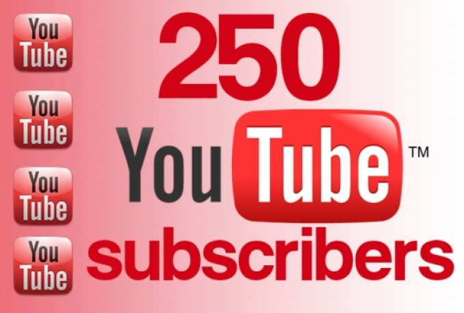 give 250+ Youtube Channel Subscribers