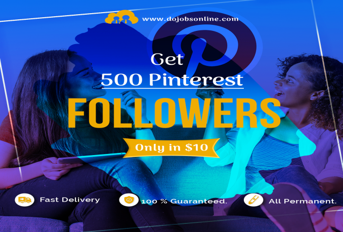 add 500 Pinterest Followers