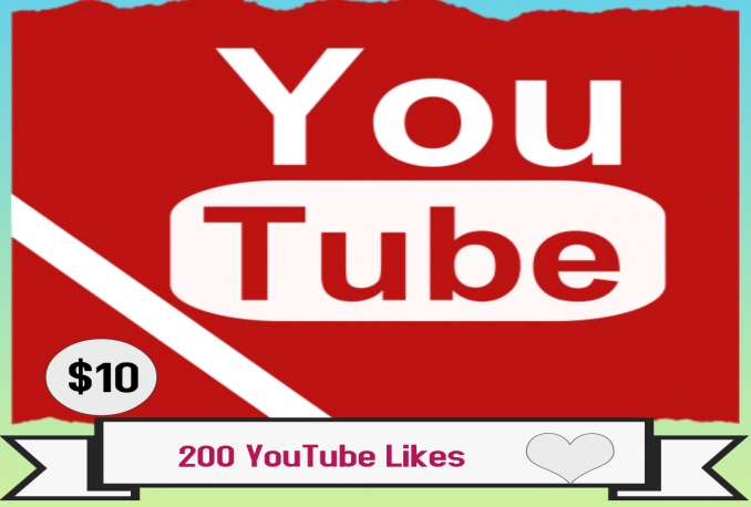 Provide 200 YouTube likes >>Instant complete>>
