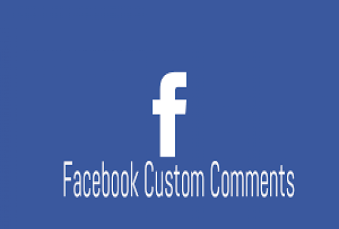 deliver 25 Facebook Custom comments