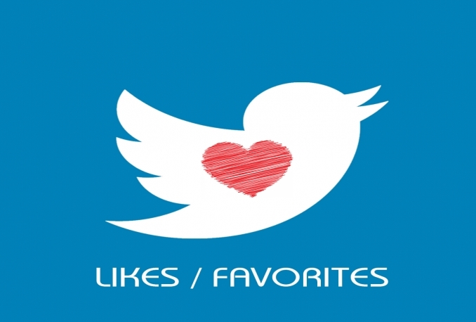 add 100+ Twitter Likes/Favorites