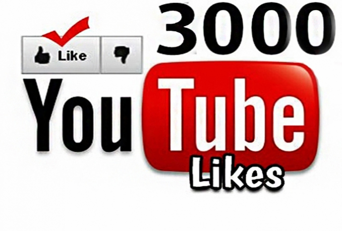 deliver YouTube splitable Likes 3000 Instant start