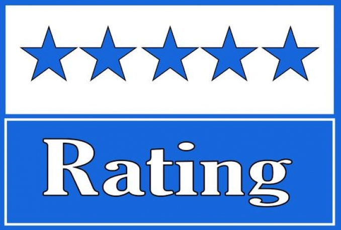 give you 60 Facebook five star rating and review on your fan page