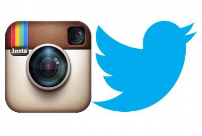 deliver 500 Instagram Follower and 500 Twitter follower